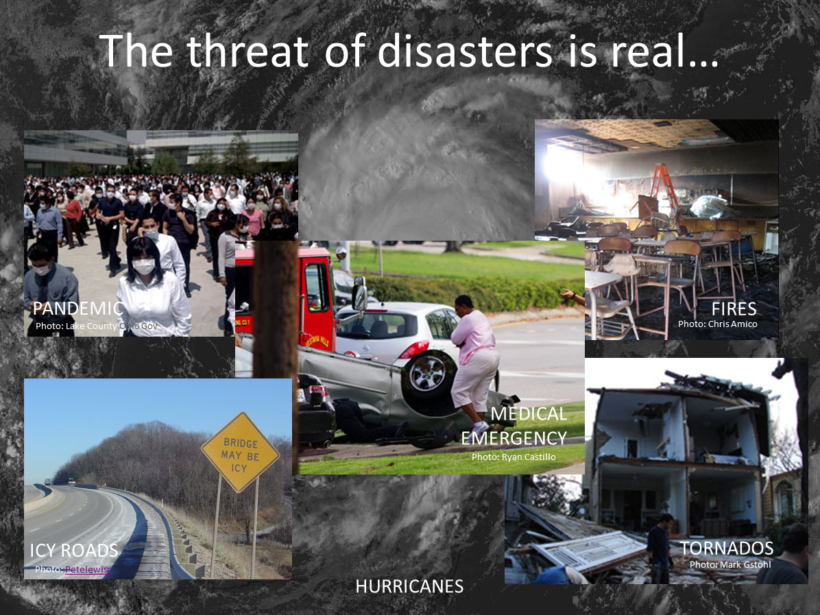image showing various disasters